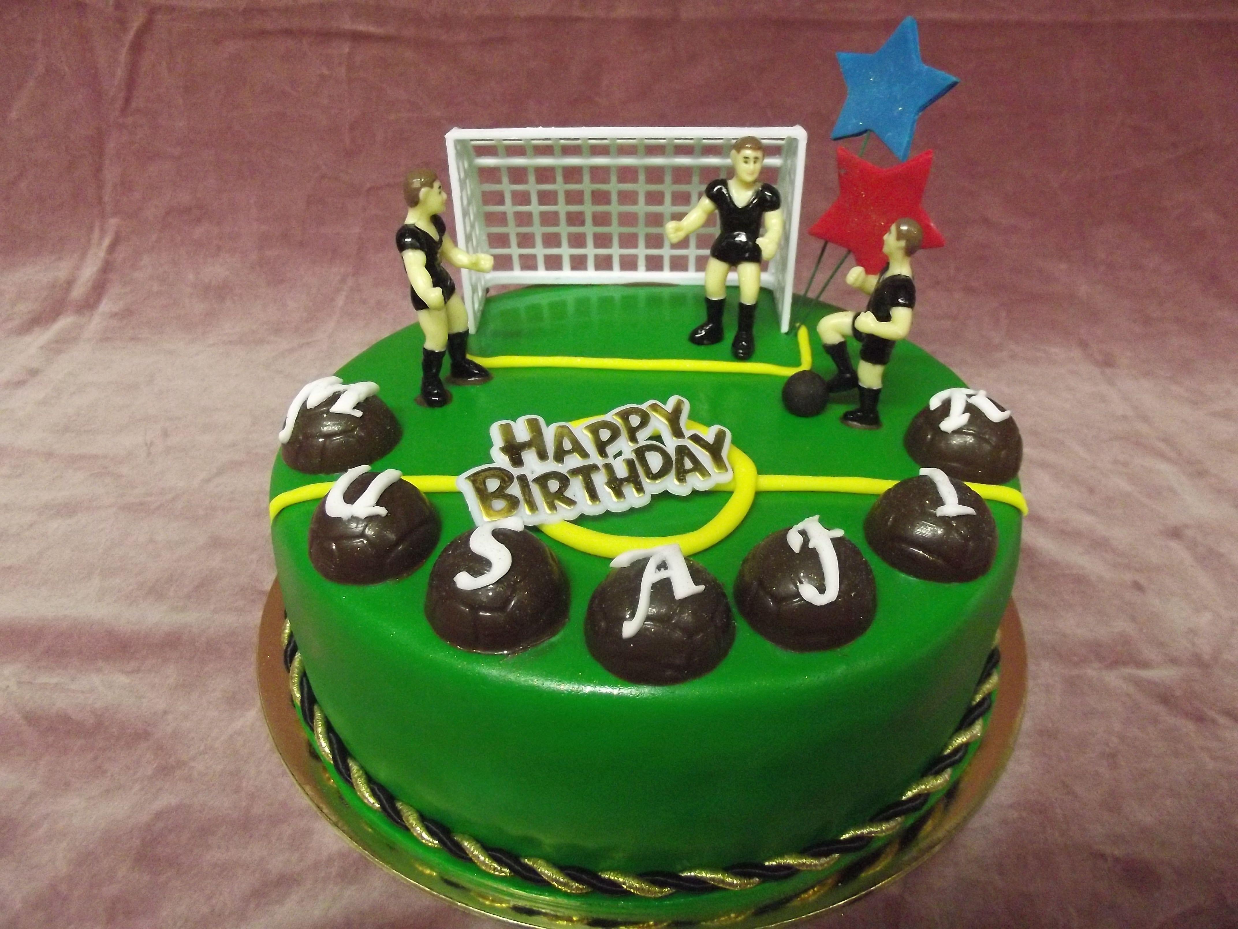 SOCCER THEMED CAKE Best Birthday Cakes in Auckland, New