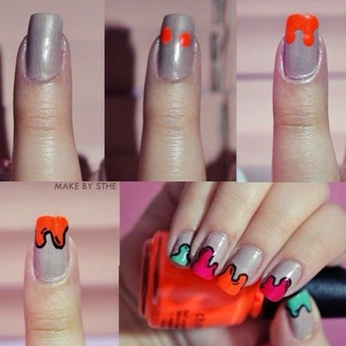 38 Interesting Nail Art Tutorials Art Tutorials Tutorials And