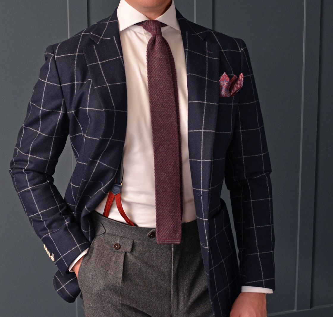 Flannel shirt with suit  CHRISTMAS  Winter separates are a great way to take some of the