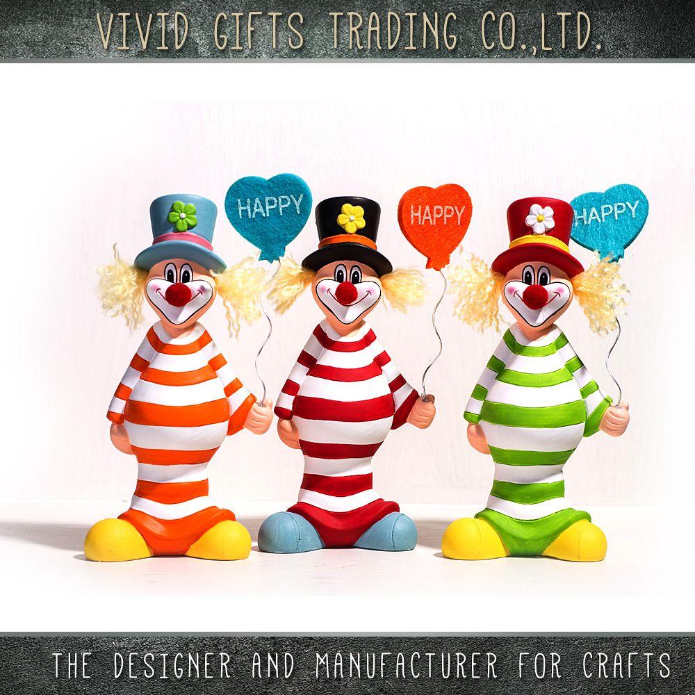 China Wholesale Clown Shape Custom Birthday Party