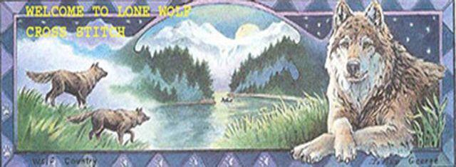 TwiLight Song WoLf Cross Stitch Pattern LOOK