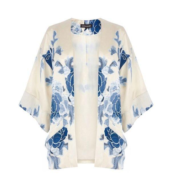 Un kimono satiné