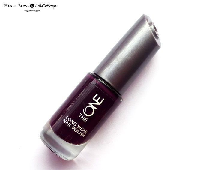 Oriflame The ONE Long Wear Nail Polish Purple In Paris Review ...