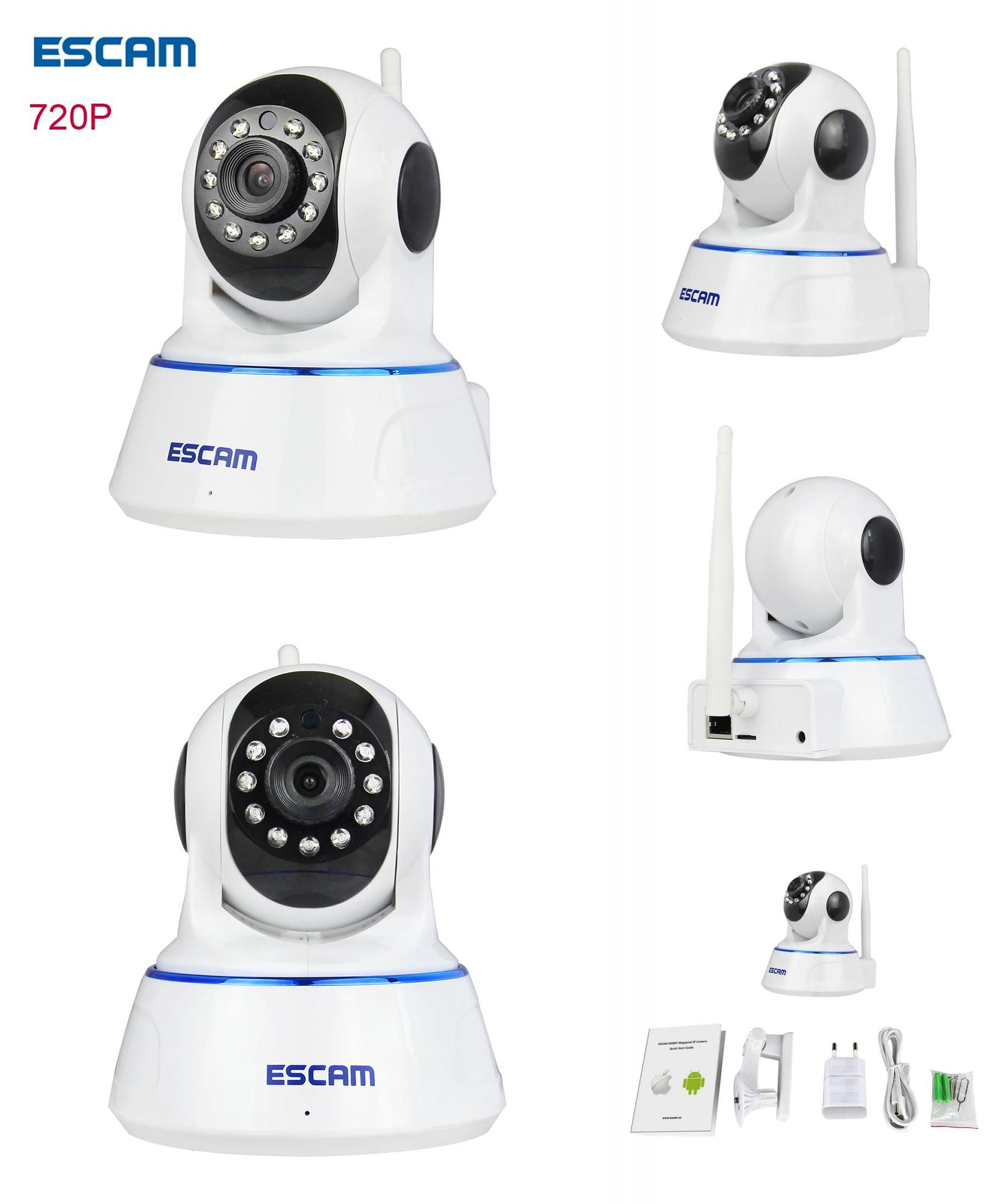Visit to Buy ESCAM QF HD p cctv wifi wireless ip camera Night