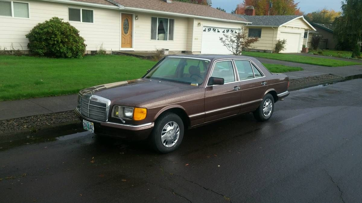 1985 Mercedes 280SE cars & trucks by owner vehicle