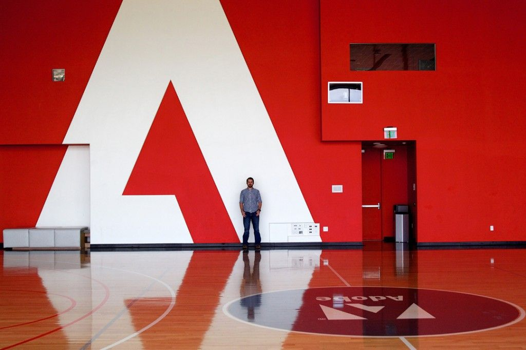 Adobe Basketball Court