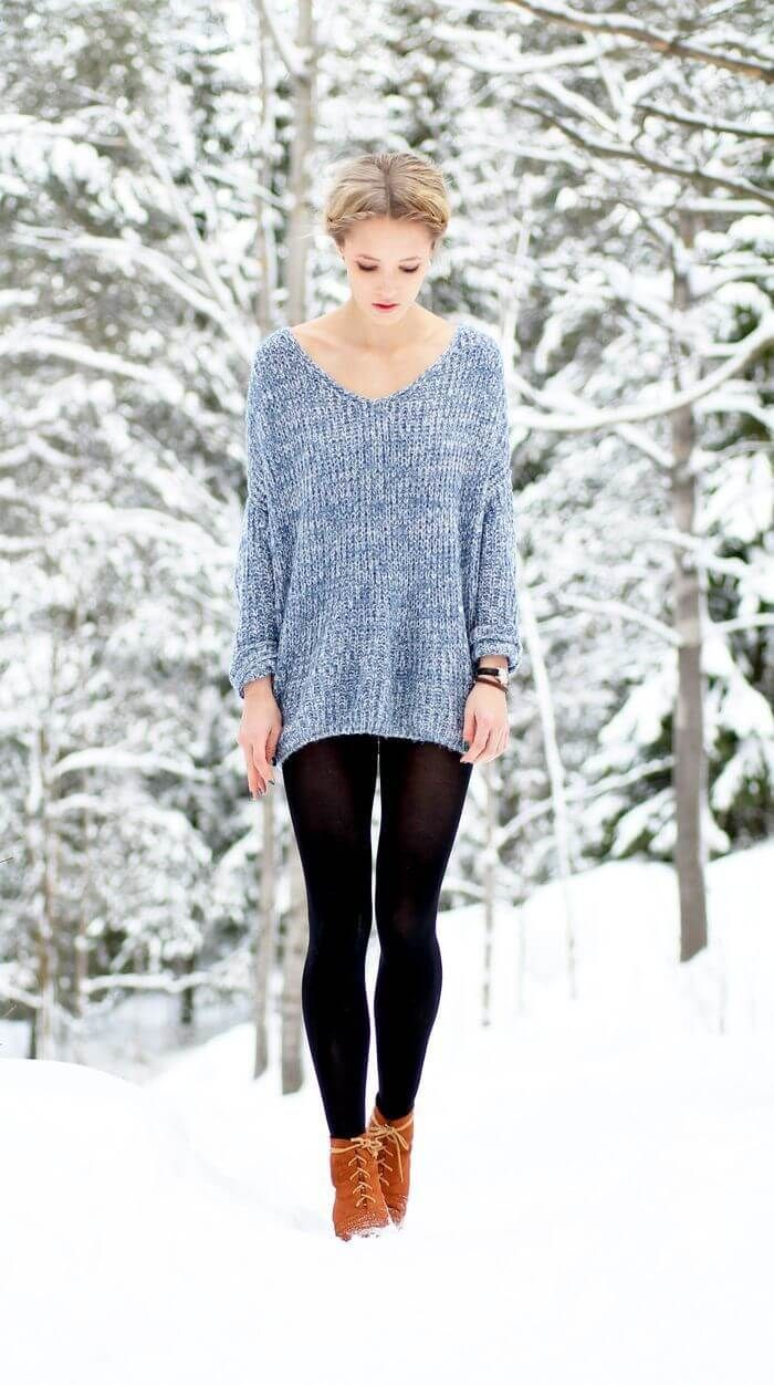 25 Oversized Sweaters for Chic Winter Style | Winter style, Winter ...