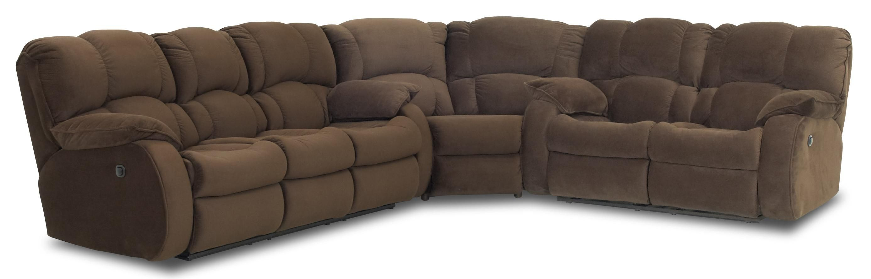 Travis Reclining Sectional by Klaussner Couches