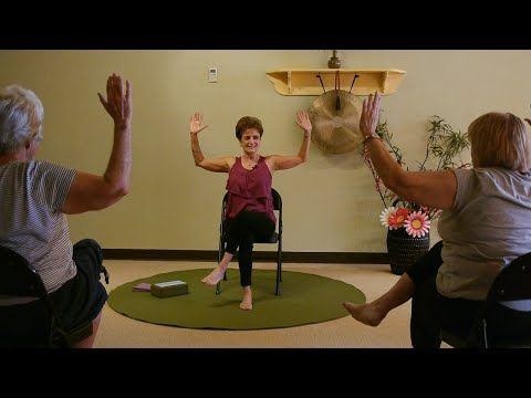 happy cactus and eagle chair yoga sequence with tatis