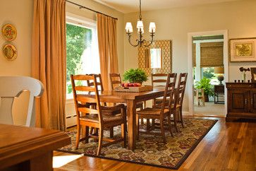 Tiverton Country Home - traditional - dining room - providence - by Taste Design Inc