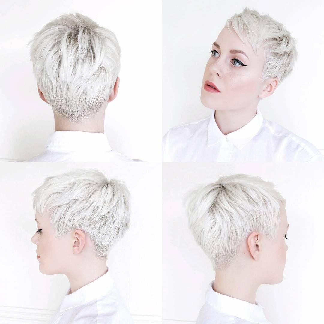 20 Trendy Hair Color Ideas 2021: Platinum Blonde H
