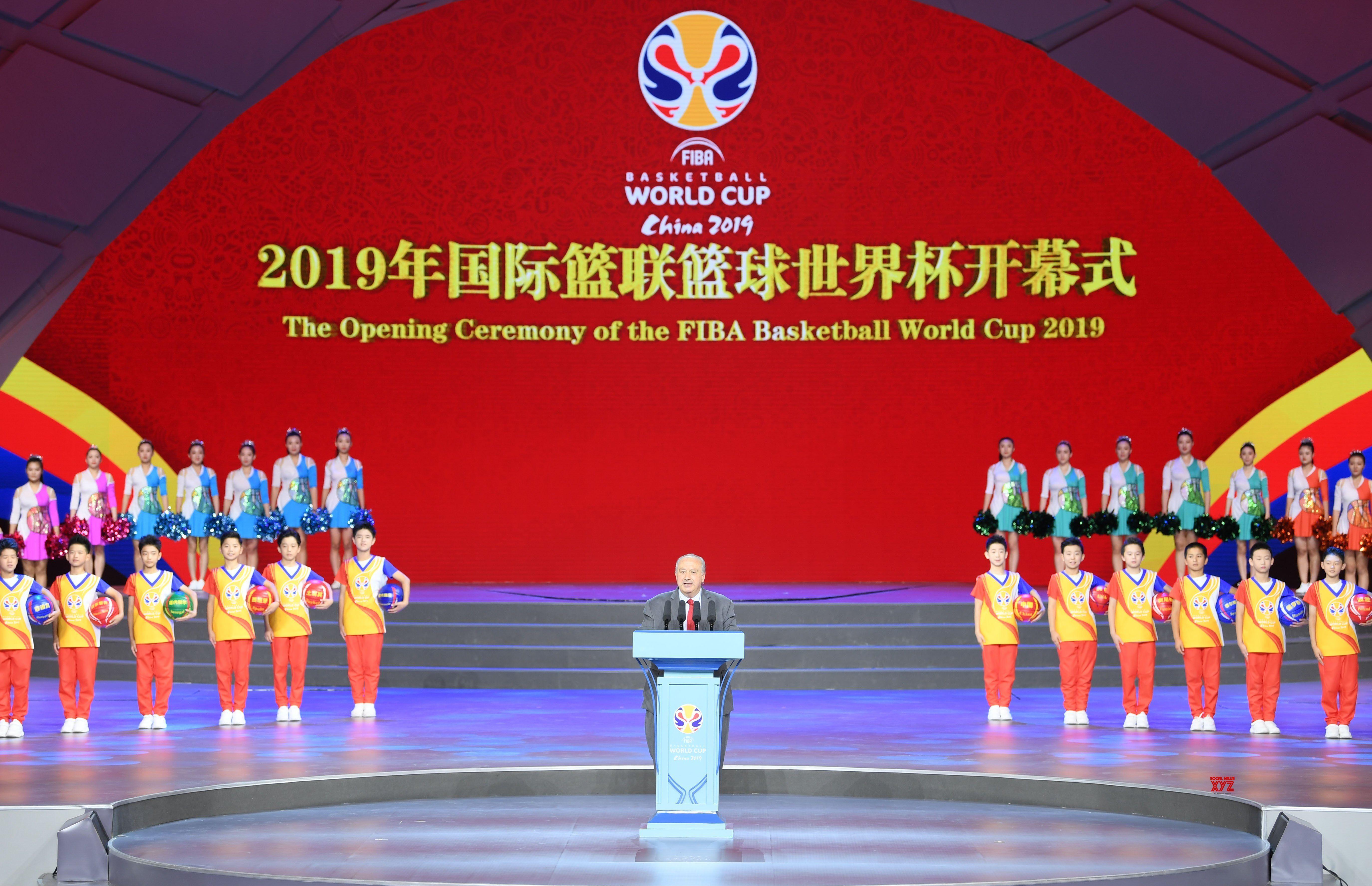 China Beijing Fiba Basketball World Cup Opening Ceremony Gallery Fiba Basketball Basketball World Cup