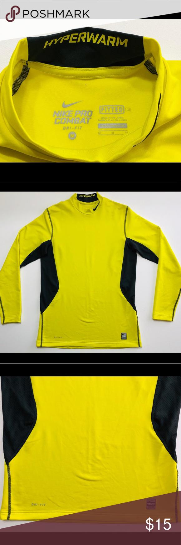 Chicle Hecho un desastre reunirse  Nike Hyperwarm Dri Fit Max Shield Comp Mock Preowned - Men's Nike Pro  Combat Hyperwarm Dri Fit Max Shield Comp Mock Size: M Good…   Dri fit,  Fashion, Clothes design