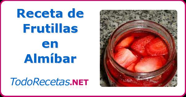 Una manera muy practica de tener frutillas fuera de época, se puede consumir con helado o solas con crema chantilli.