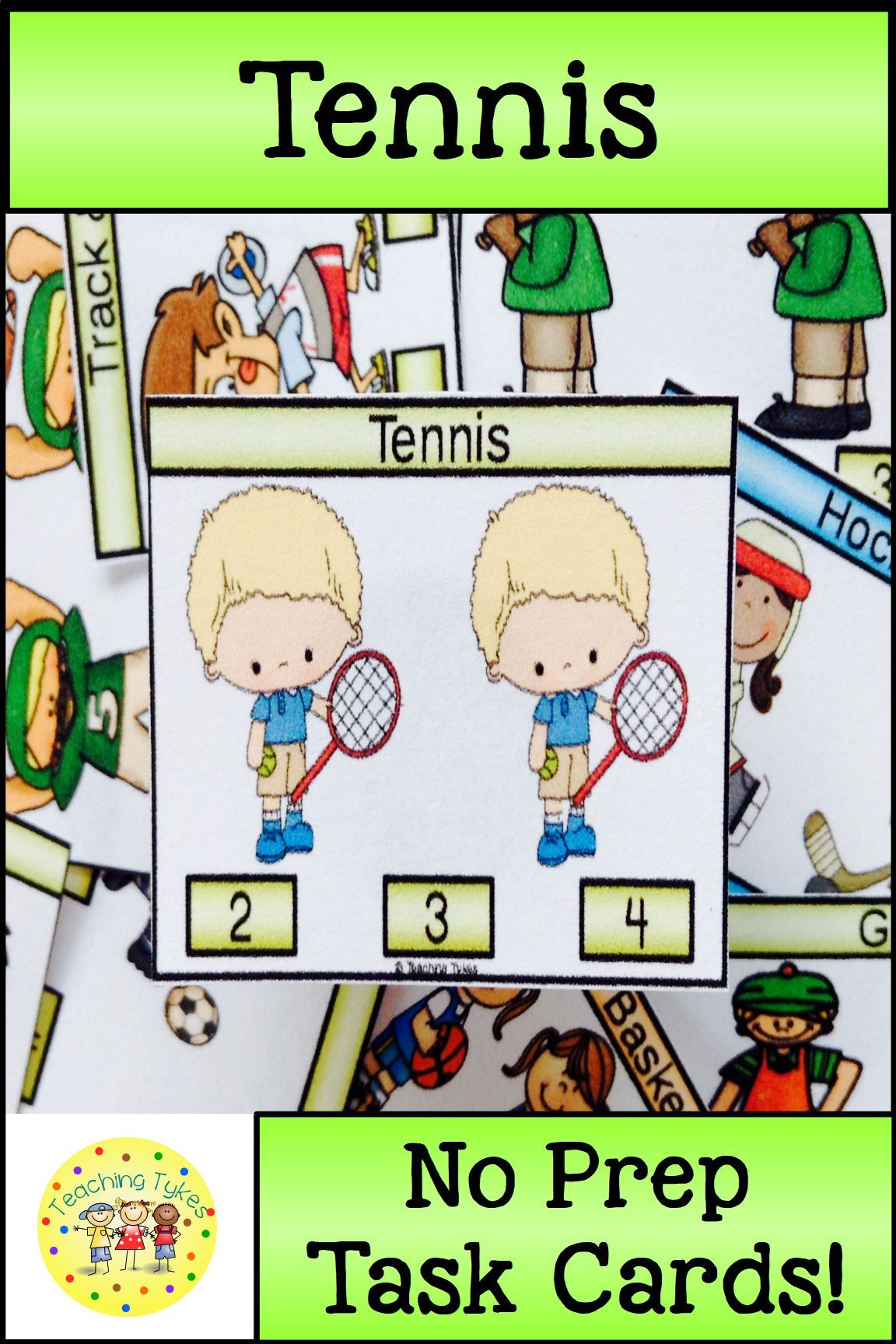 Tennis Activity To Practice Counting Tennis