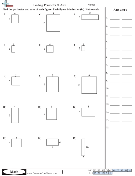 Area And Perimeter Worksheets 3rd Grade Area Worksheets Area And Perimeter Worksheets Area And Perimeter