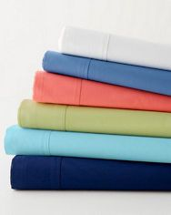 Fiesta Solid Percale Bedding $84 Full set w cases