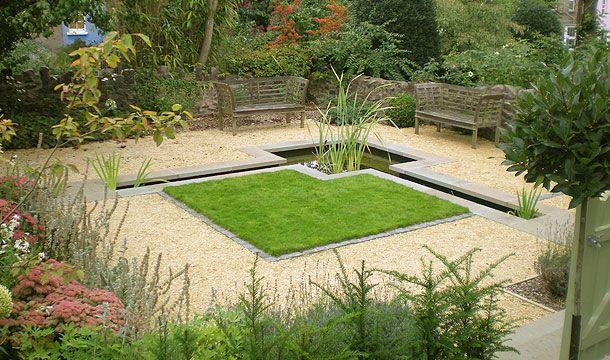 Small Lawn Garden Design in Bristol terrace.jpg | Garden structures ...