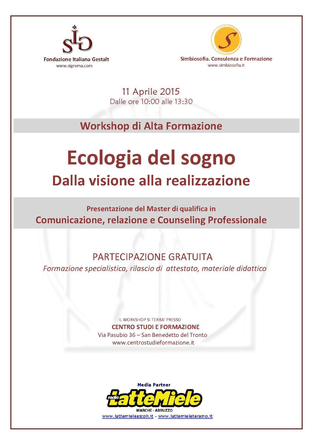 Workshop Di Orientamento Con Laboratorio Di Career Counseling