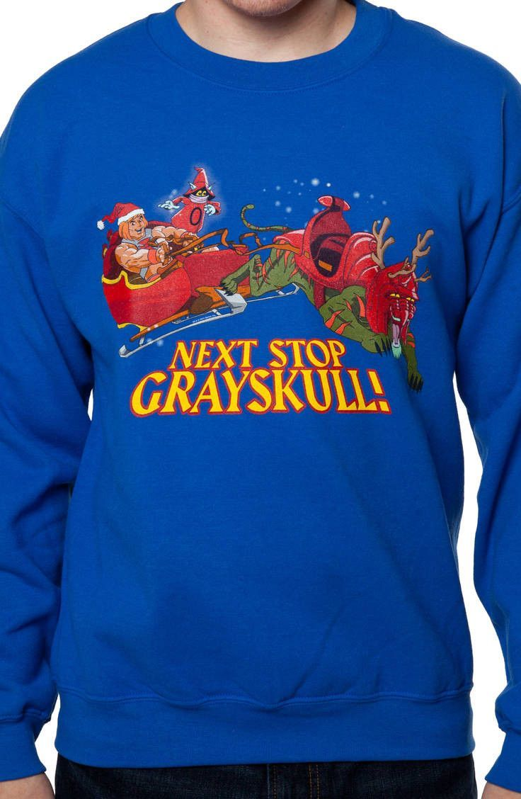 masters of the universe faux ugly christmas sweater - He Man Christmas Sweater