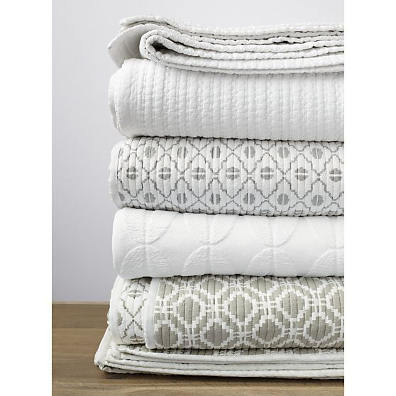 Good Shop For Quilts And Coverlets At Crate And Barrel. Browse King, Queen,  Full, And Twin Quilts In A Variety Of Styles. Order Quilts And Coverlets  Online.