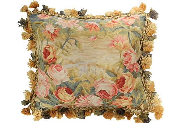 French Tapestry Pillow On OneKingsLane.com