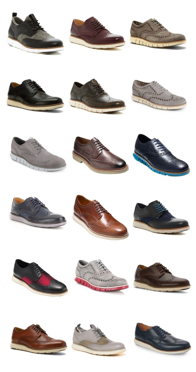 06c7ff30 18 Original Wingtip Oxfords for Men - Cole Haan | Men Shoes | ZEROGRAND