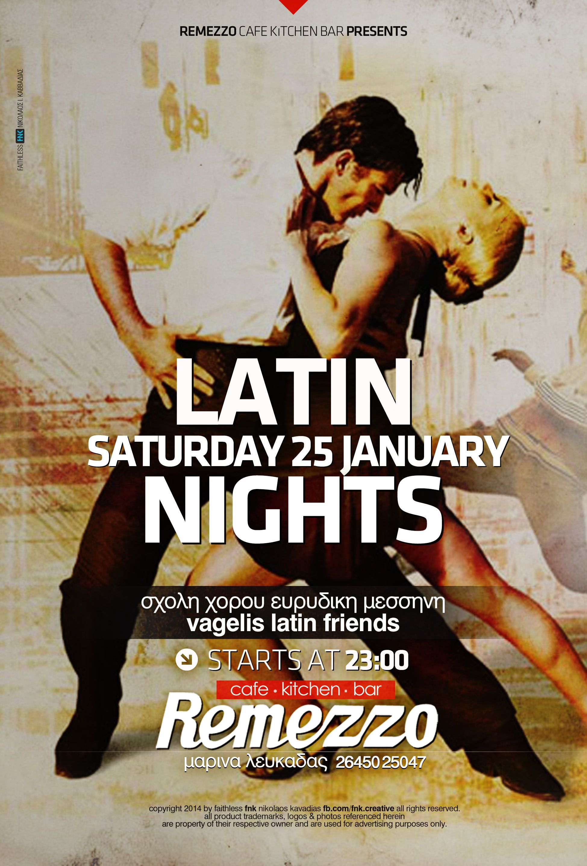 latin nights event poster http://fb.com/fnk.creative | FNK: Event ... for Creative Event Posters  535wja