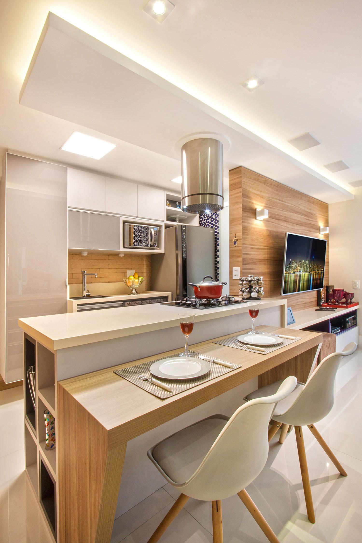 Cozinha Clean 60 Modelos E Projetos Incr Veis Furniture