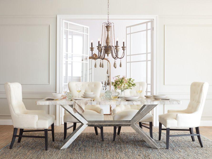 Petra Rectangle Dining Table Arhaus Furniture Rectangle Dining Table Dining Table Dining Table Marble