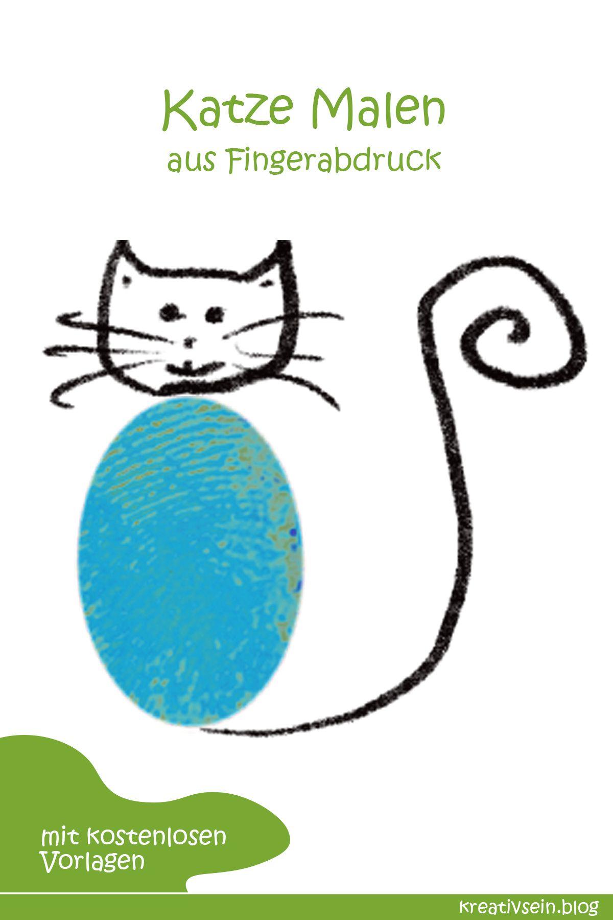 Fingerabdruck Tiere Malen Mit Kindern Kreativsein Blog Fingerabdruck Tiere Tiere Malen Malen Mit Kindern