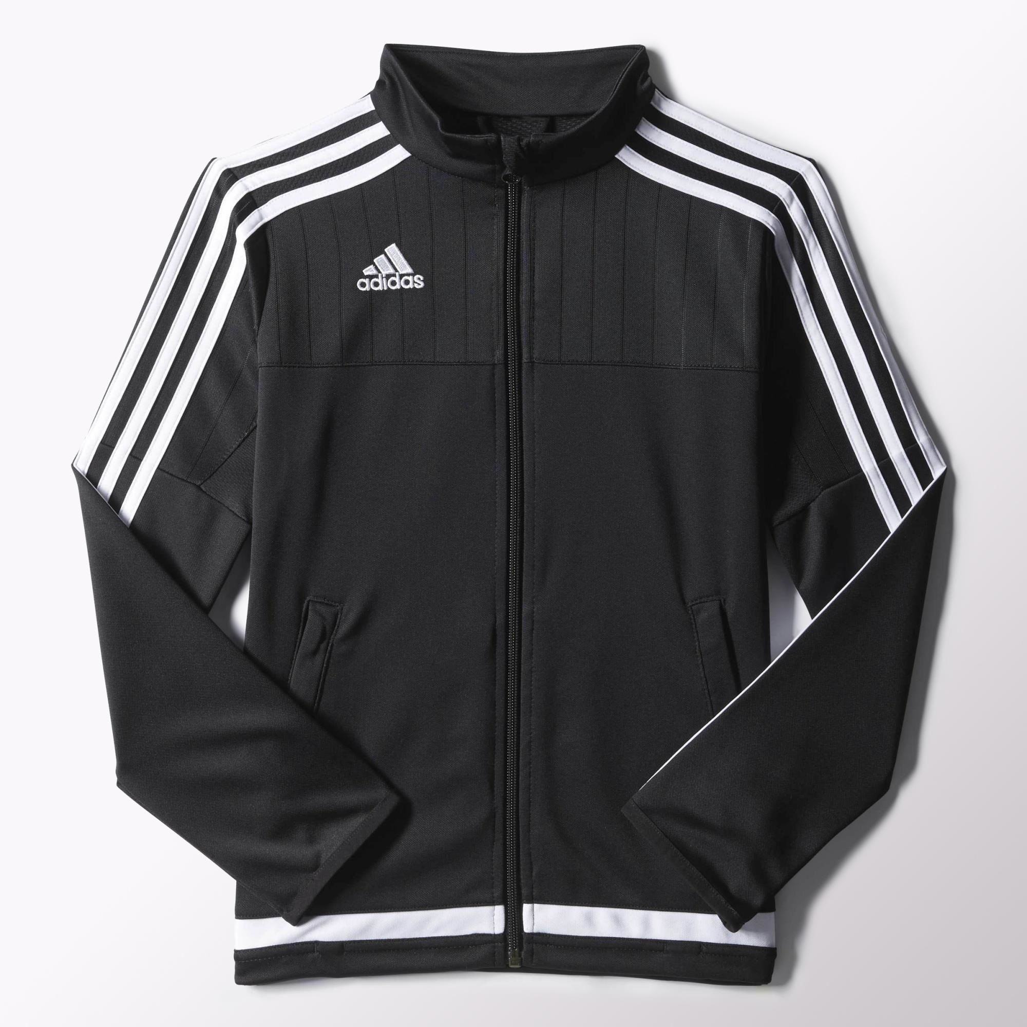 This junior boys' soccer jacket keeps you covered when you're ...