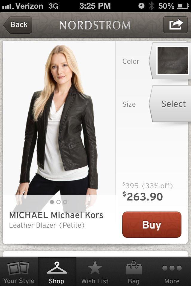 Leather jacket-must have for this fall!