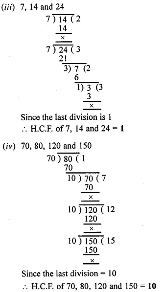 Selina Concise Mathematics Class 6 Icse Solutions Chapter 8 Hcf And Lcm Learn Cram Icsesolutions Concisemathscla Mathematics Maths Solutions Studying Math