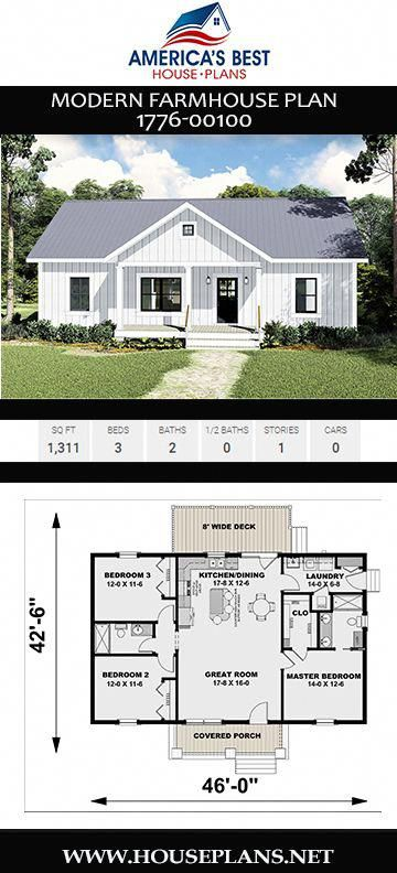 Dream House Decor Dreamhouses Modern Farmhouse Plans House Plans Farmhouse Farmhouse Plans