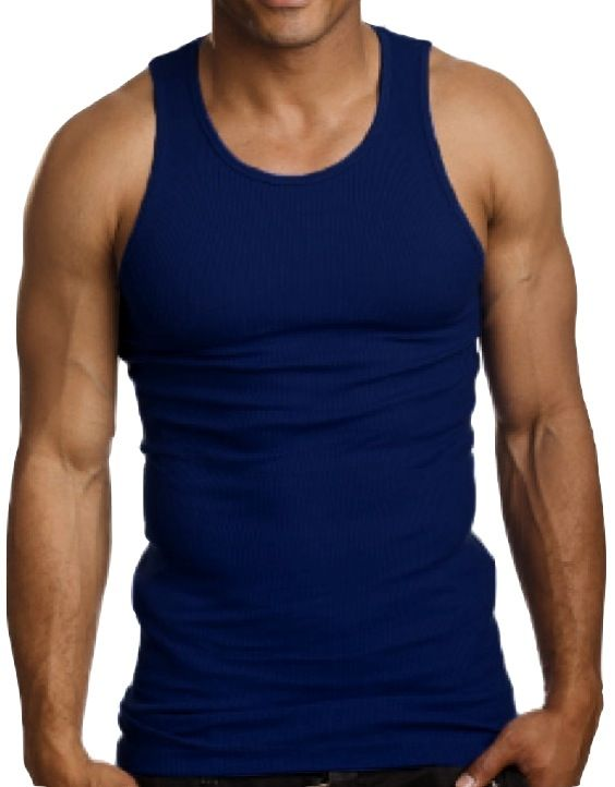 413bba97ebb468 Top Quality 100 Premium Cotton Mens A Shirt Wife Beater Ribbed Tank Top  Muscle