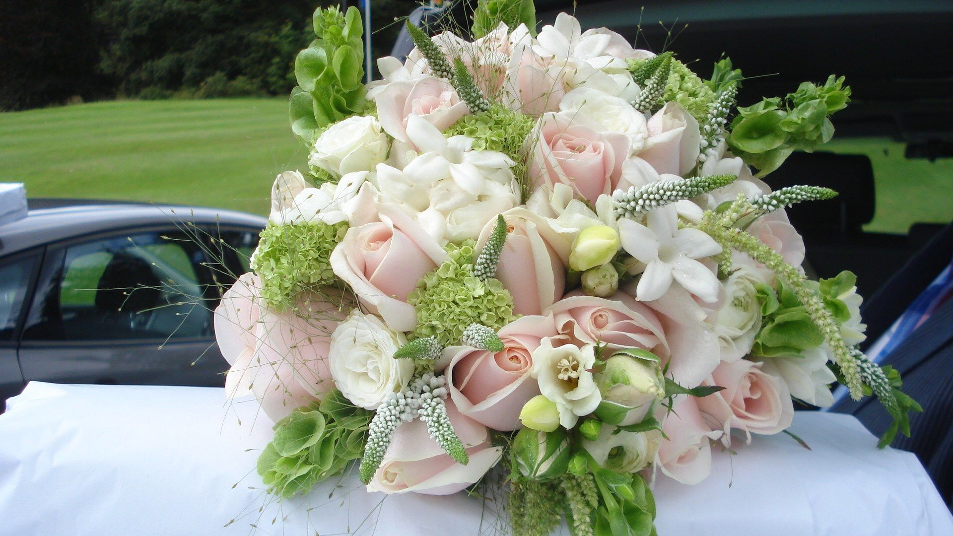 Bridal Bouquet Pink Flowers Dream Irish Wedding Jami 39 S