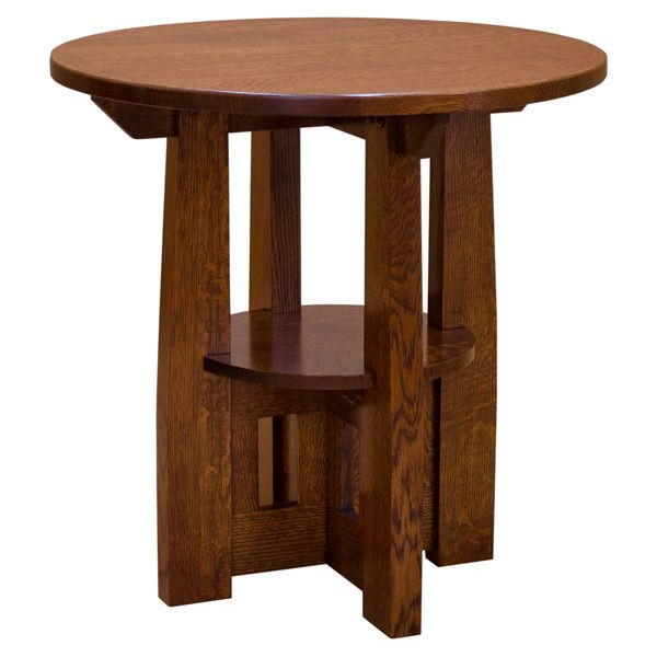 Charles Limbert Round End Table In 2020