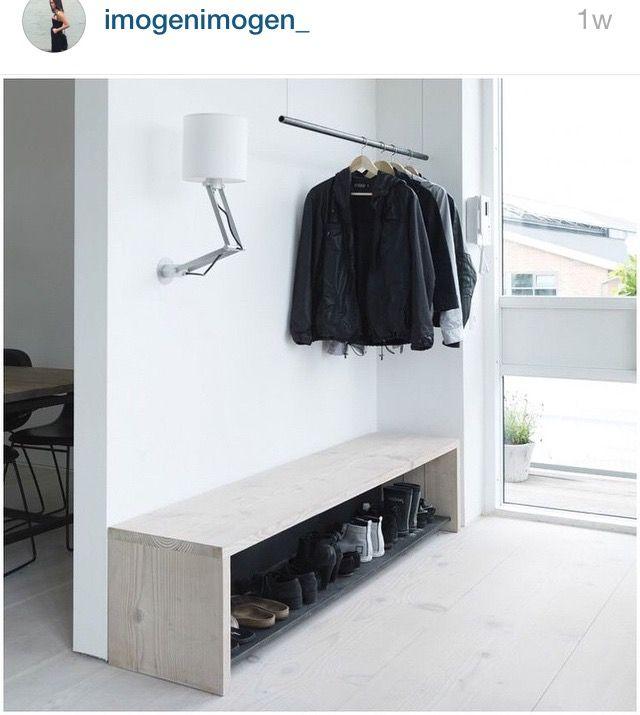 Idée Déco Entrée Maison : 50 Propositions Intéressantes | Shoe Rack