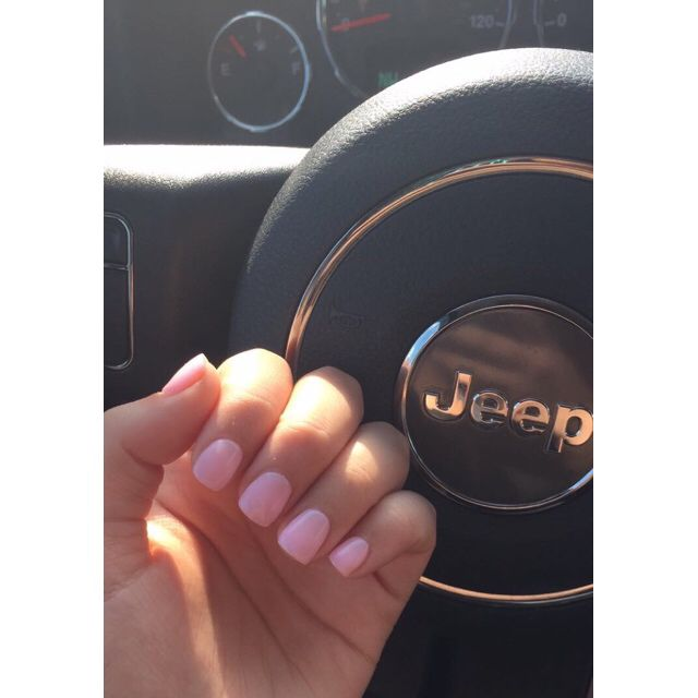 """ANC Nails Done On My Natural Nails, Color Is 110 """"Hot"""