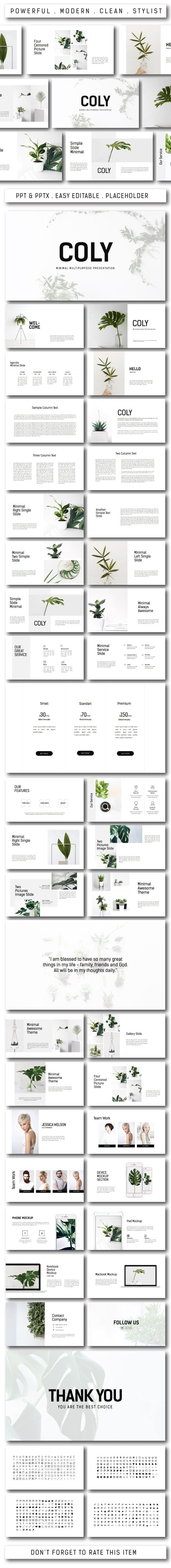 Coly Multipurpose Powerpoint PowerPoint Templates Presentation