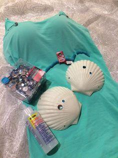 Mermaid costume top