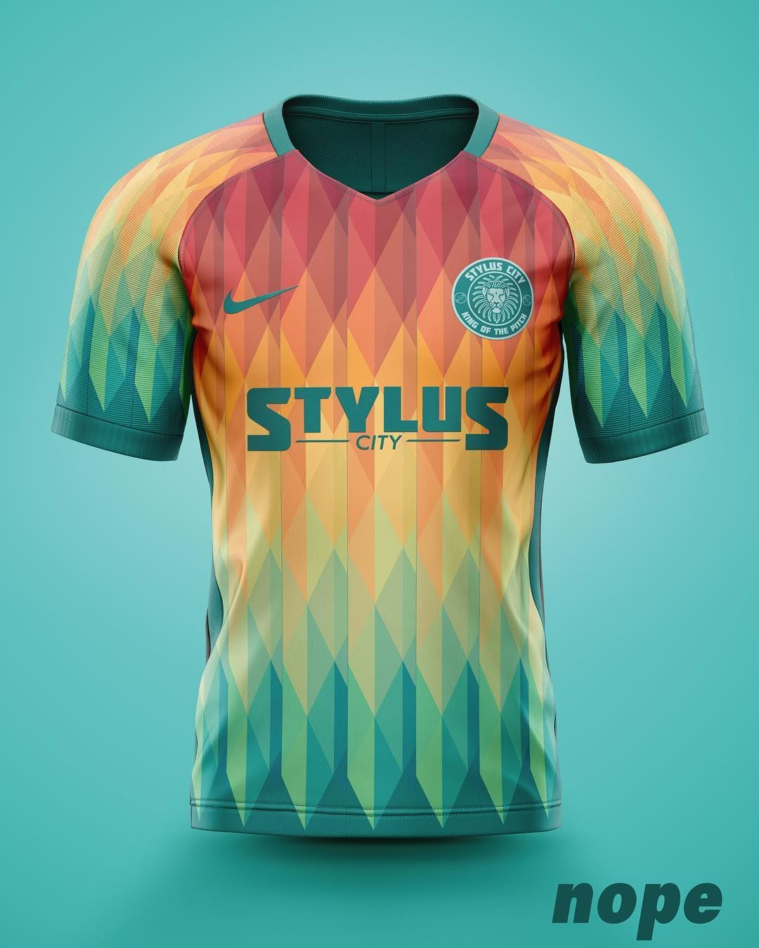 Download Design 3 From The Styluscity Concepts Series What Do You Think Nope Nopedesign Concept Football Drumnbass Music S In 2020 Sportswear Fashion Shirts