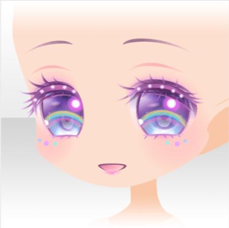 Rainbow Dream Anime Eyes Chibi Eyes Manga Eyes