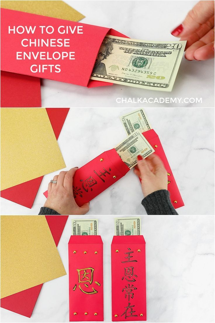 Lucky Chinese Red Envelopes 红包 Free Printable and Video