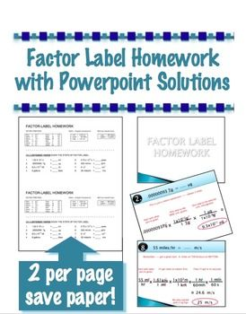 factor label homework converting units physics or chemistry factor label homework converting units physics or chemistry