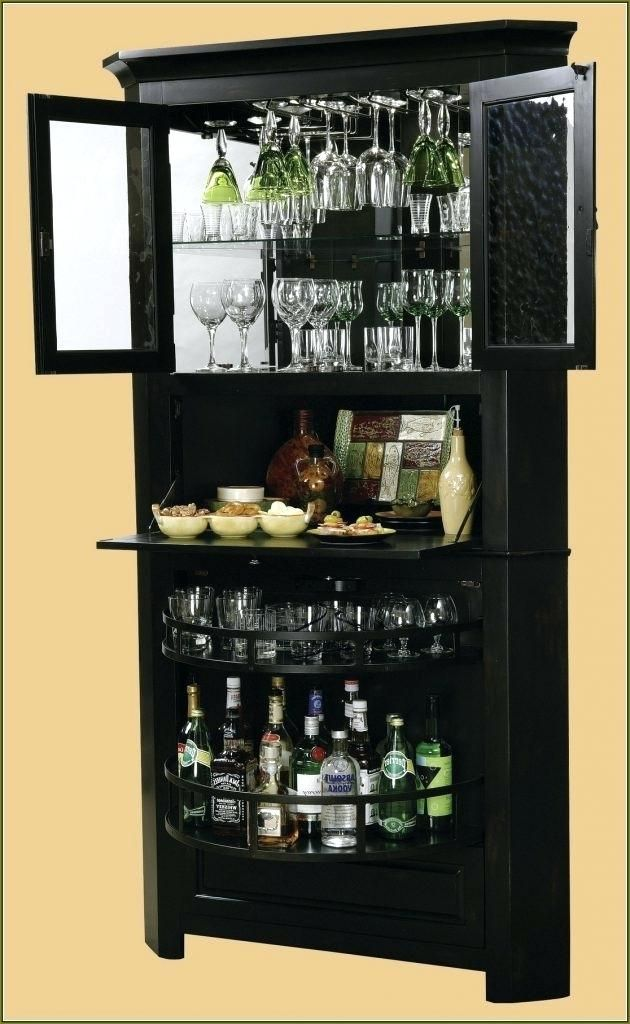 Superb Modern Liquor Cabinet Corner Liquor Cabinet On Modern Home