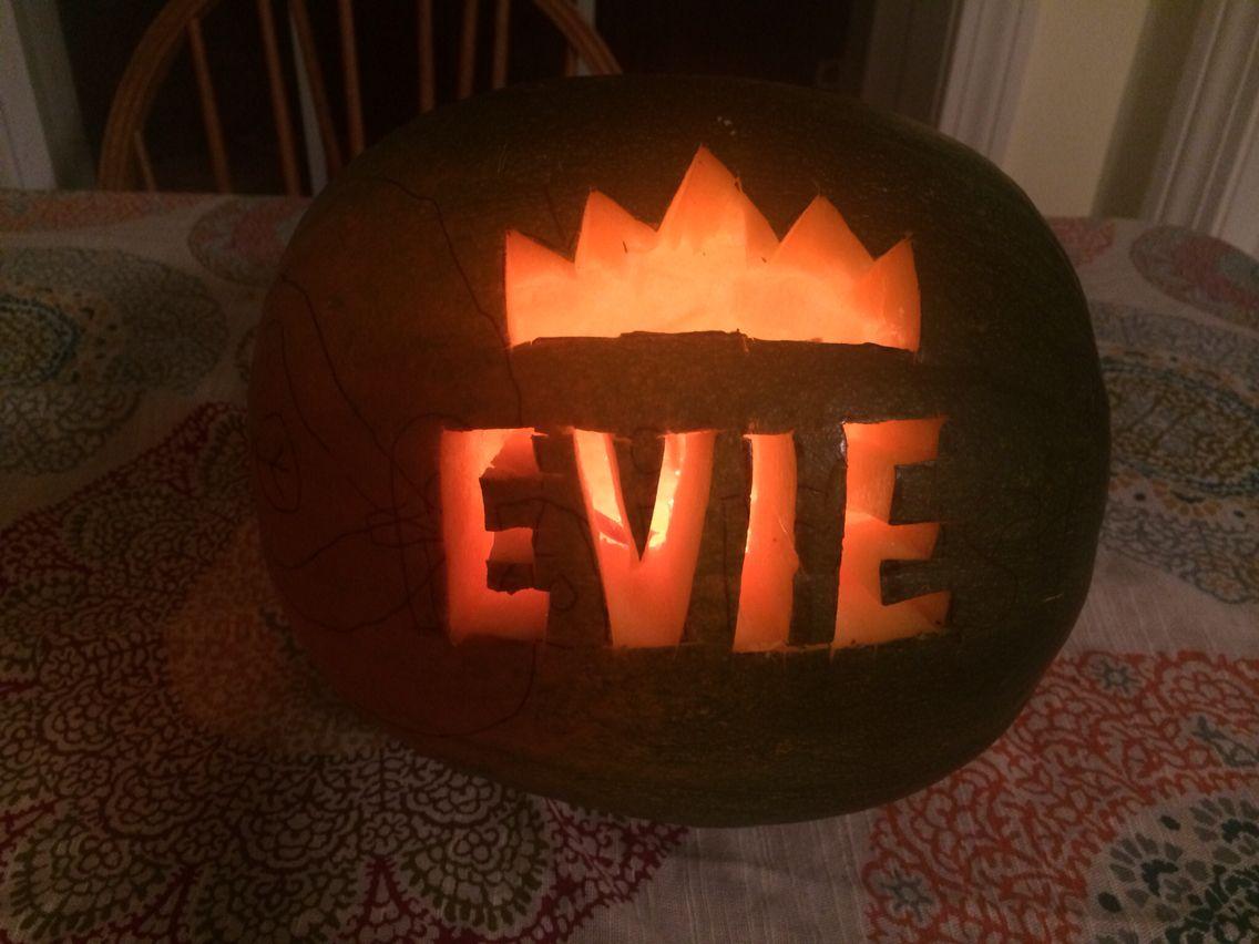 descendants 3 pumpkin template  Disney Descendants Evie Pumpkin in 5 | Pumpkin template ...