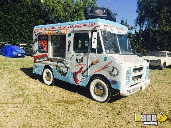 Ice Cream Trucks For Sale >> Chevy Ice Cream Truck For Sale In California Ice Cream Truck