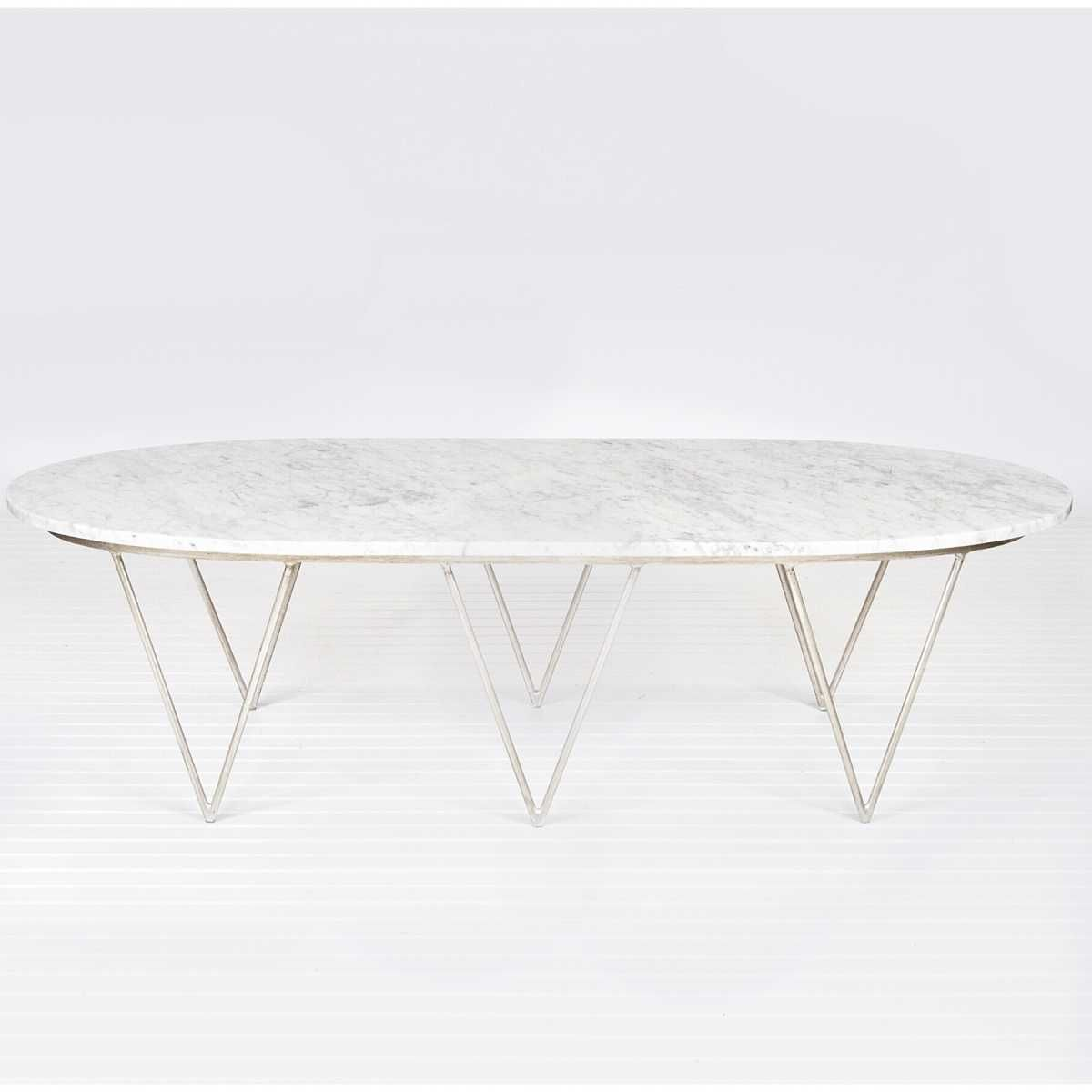 Worlds Away Surf Coffee Table With White Marble Top Candelabra Inc Coffee Table Coffee Table White Marble Top